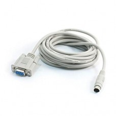 Delta-DVPACAB2A30 program upload/download cable, PC (9 PIN D-SUB) <-> PLC / 3M (recommended)