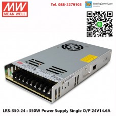 LRS-350-24 : 350W Power Supply Single O/P 24V14.6A
