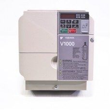 Versatile Inverter - Yaskawa (V1000) - Rated voltage Input / Supply (3-phase input) 380-480Vac - Rated output power 11kW - NEMA 1 (IP20)