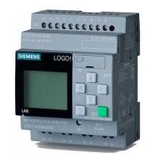 6ED1052-1CC08-0BA0 LOGO! 24CE, logic module, Display PS/I/O: 24 V/24 V/24 V trans., 8 DI (4AI)/4DO, memory 400 blocks,